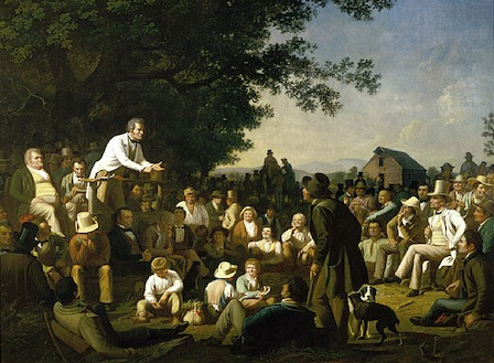 George Caleb Bingham - Stump Speaking